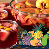 ​Fruit Cocktail and Liquor ​Coctel de Frutas y Licor